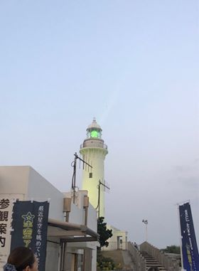 グリーンの灯台